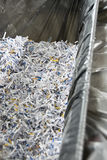 Shredded papers Stock Photos