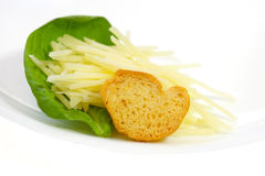 Shredded Parmesan Cheese stock images