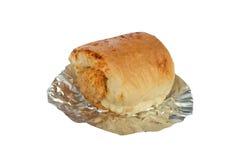 Shredded pork bread on white background Stock Photo