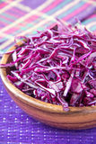 Shredded red cabbage Stock Photo