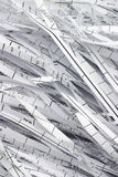 Shredded waste paper strips Royalty Free Stock Photo