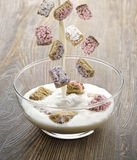 Shredded Wheat Cereal Stock Images