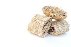 Shredded wheat cereals Royalty Free Stock Photo