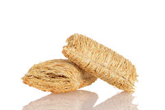 Shredded wheat Stock Image