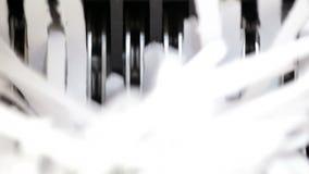 Shredder Blades stock footage