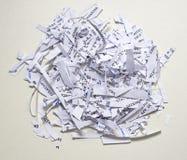shredding Stock Afbeelding
