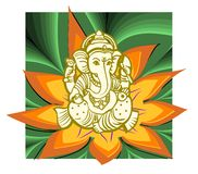 shree de ganesha Photo libre de droits