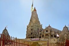 6000 Shree Dwarakadheesh Tempel Dwarka Lizenzfreie Stockfotografie