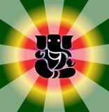 Shree Ganesh Royalty-vrije Illustratie