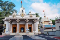Shree Nityanand偶象寺庙, Ganeshpuri,大乡绅,皮文迪 库存图片