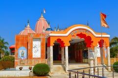Shree Radha Gopal mandir ISKCON Aravade, Tasgaon dichtbij Sangli Stock Foto's