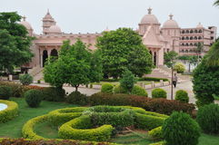 Shree Swaminarayan Gurukul在海得拉巴,印度 免版税库存图片