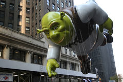 Shrek Ballon. Stockfoto