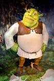 Shrek bij Mevrouw Tussauds Royalty-vrije Stock Foto's