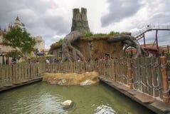Shrek's House, Universal Studios (Singapore) Royalty Free Stock Photos