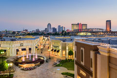 Shreveport Lousiana Cityscape Royalty Free Stock Image