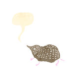 Shrew retro illustration Royalty Free Stock Image