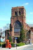 Shrewsbury Abbey. Royalty Free Stock Photography