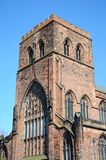 Shrewsbury Abbey. Royalty Free Stock Photography