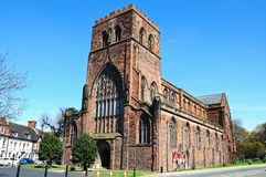 Shrewsbury Abbey. Stock Images