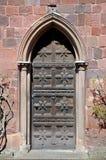 Shrewsbury Castle Door Detail. Stock Photo