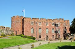Shrewsbury Castle. Royalty Free Stock Photos