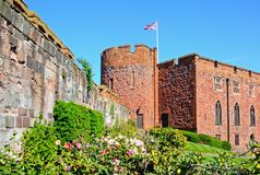 Shrewsbury Castle. Stock Photos