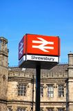 Shrewsbury Railway Station. Royalty Free Stock Photo