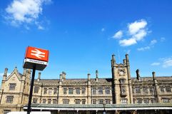 Shrewsbury Railway Station. Stock Photography