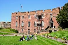 Shrewsbury Schloss Lizenzfreies Stockbild