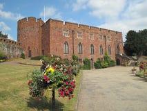 shrewsbury slott Royaltyfria Bilder