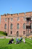 shrewsbury slott Royaltyfri Fotografi