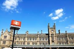 Shrewsbury stacja kolejowa fotografia stock