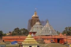 Shri Jagannath-tempel Royalty-vrije Stock Afbeeldingen