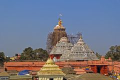 Shri Jagannath temple Royalty Free Stock Images