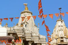 Shri Jagdish Temple dans Udaipur, Ràjasthàn, Inde Image stock