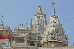 Shri Jagdish Temple Jain dans Udaipur Image libre de droits