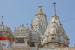 Shri Jagdish Temple Jain i Udaipur Royaltyfri Bild
