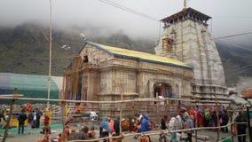 Shri Kedarnaath świątynia obraz stock