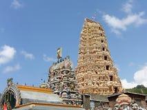 Shri-lanka, le temple de Buddistsky Photo stock