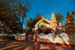 Shri Mahadev Taleshwar Devasthan Royalty Free Stock Photo