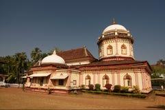 Shri Nageshi Tempel Stockbild