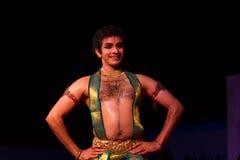 Shri Pavithra Bhat, Mumbai, Indian dancer. Indian dance festival - 2016 - Mamallapuram. January 12, 2016, Bharathanatyam Stock Photos