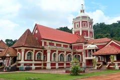 Shri Shantadurga, berühmter hinduistischer Tempel in Ponda. Goa stockbild