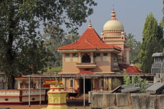 Shri Shantadurga Temple, Goa, India Stock Foto