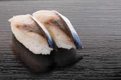 Shrime Saba Sushi Royalty Free Stock Image