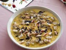 Shrimp. Gourmet make food very entice Royalty Free Stock Photo