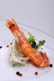 Shrimp appetiser Royalty Free Stock Photo