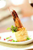 Shrimp appetiser Royalty Free Stock Photography