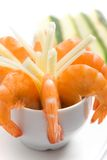 Shrimp appetizer Royalty Free Stock Photos